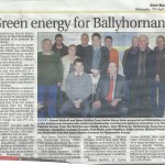 14th April 2013 Green Energy free for Ballyhornan