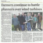 Farmers pressPlanners to implement government policy on energy in Down
