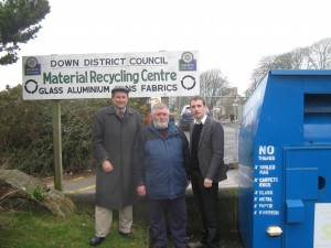 Attached is a photograph of Cllr Cadogan Enright with local residents Gerard McCormick and John Hardy.