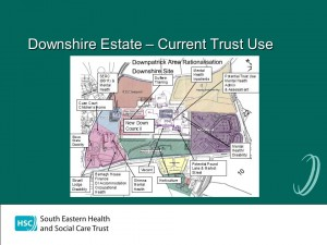 Map of Public Sector Tenants at Downe