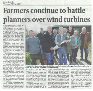 Farmers Continue Battle with Planners