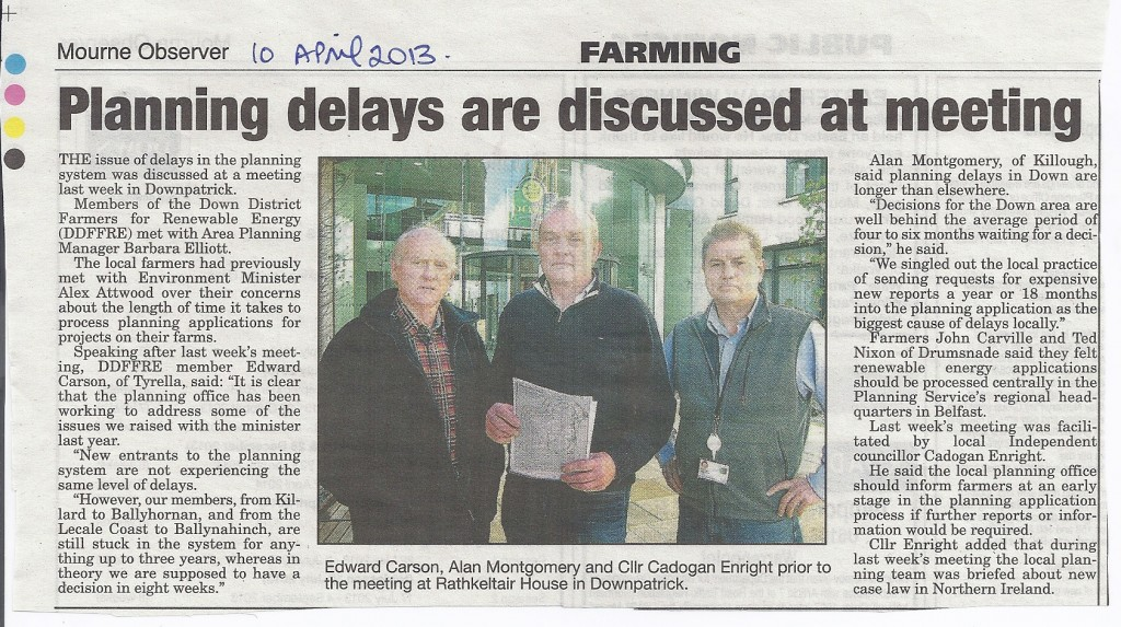 10th April 2013 Farmers Tackle Planning delays 2