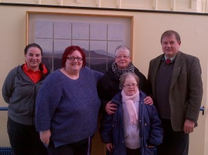 CAPAA and Gateway representives visit with Cllr Cadogan Enright