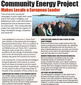 Community Renewable Energy Breakthrough