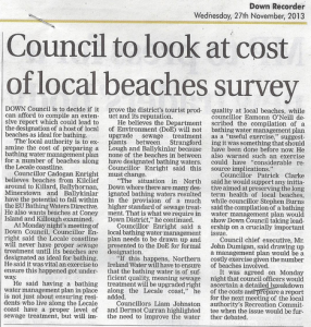 Motion Passed on improving beaches