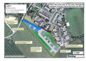 Strangford Village Social Housing - with extra houses and 'planning gain' for local residents
