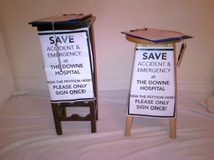 Kitchen Stool Campaigning