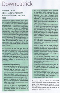CORRECT PLANNING POLICY FOR THE AREA - it is vital to demand correct planning policy be observed on this development