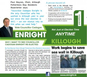 Killough front page