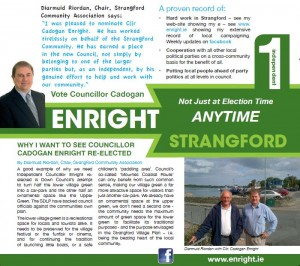 Strangford front page